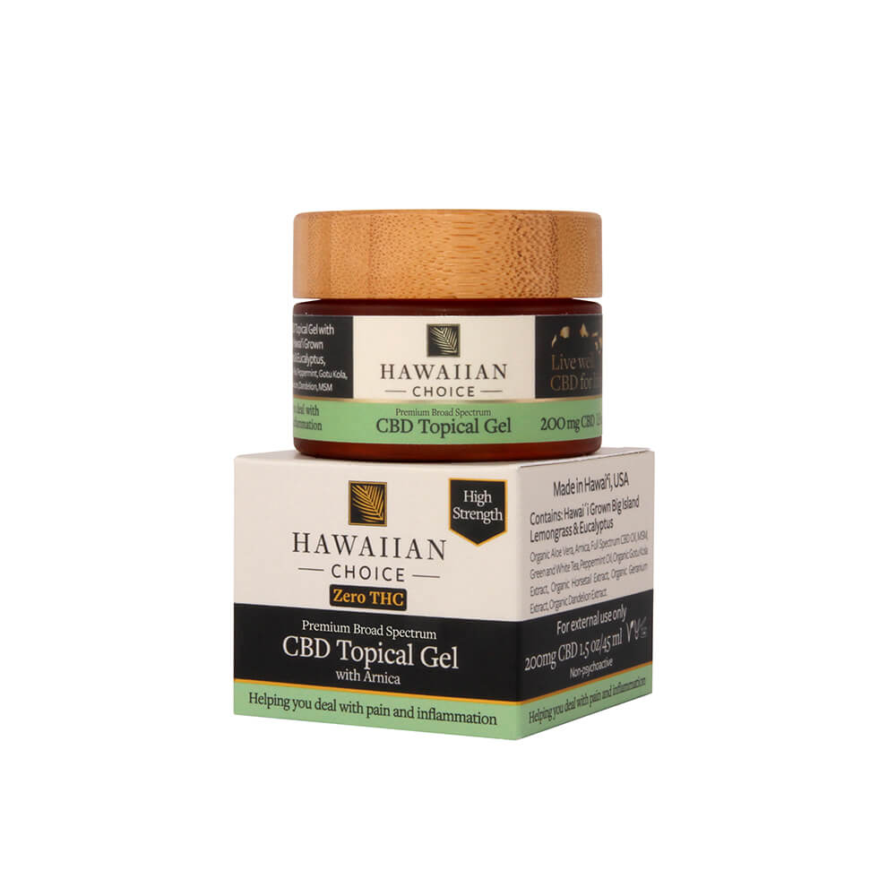 Hawaiian Broad Spectrum CBD Topical Gel